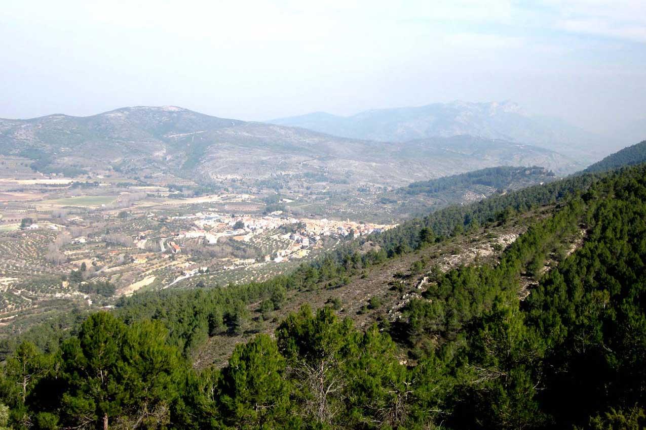 casa mediterranea inland entre pinos