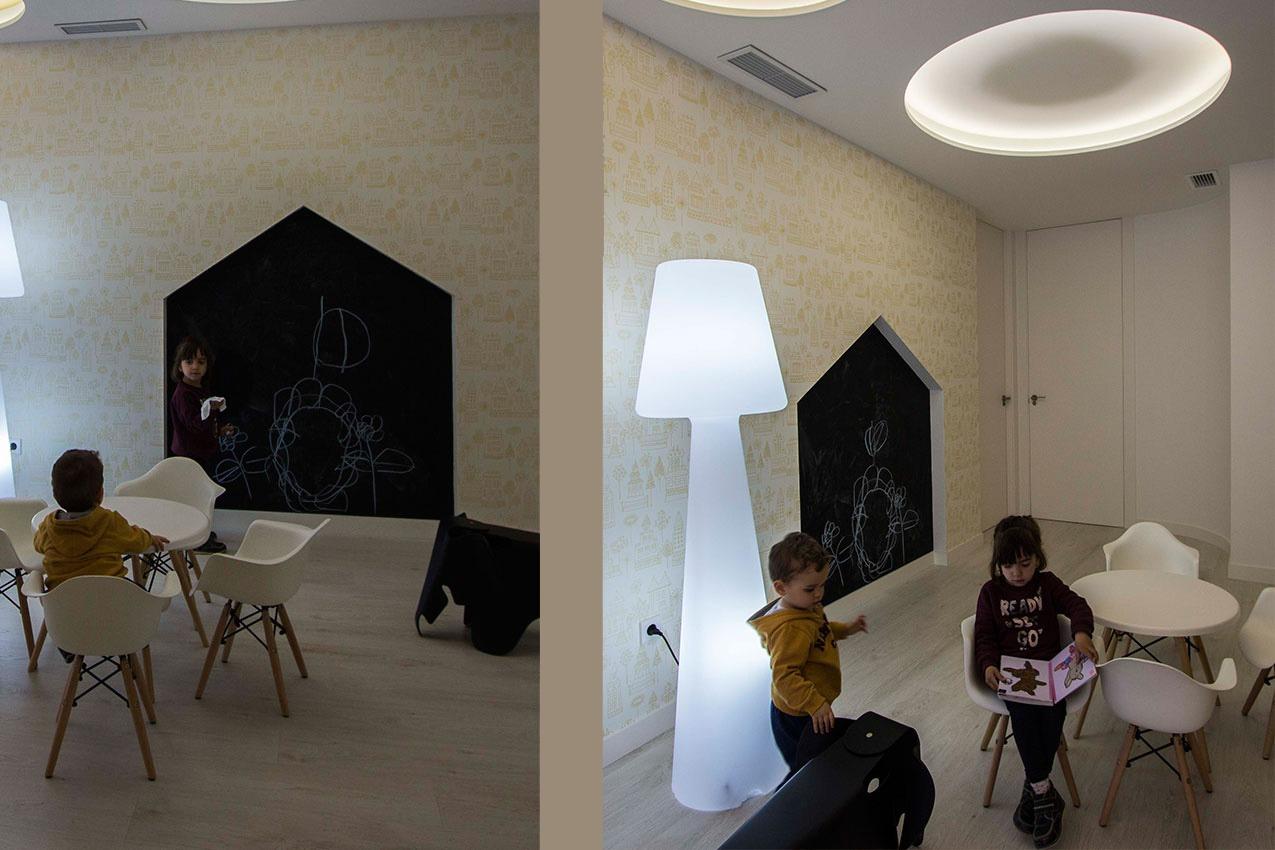 Diseño interior con alma Inland_Clínica dental Somriure