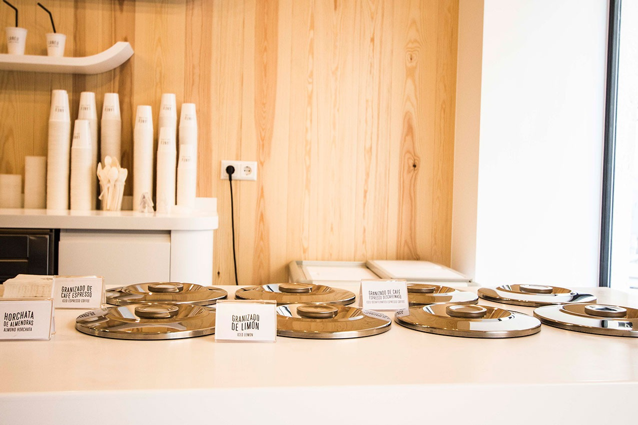 Diseño interior con alma Inland_LANEU heladería