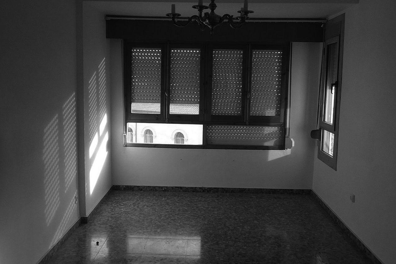 Interior antes de la reforma Inland